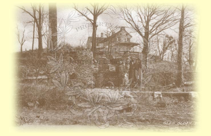 Two years later, the mill which had been built by the Shipley Family in the 1750's, caught fire and burnt down to ruins. Hook Road, as known today, ran between the old mill and the millhouse.