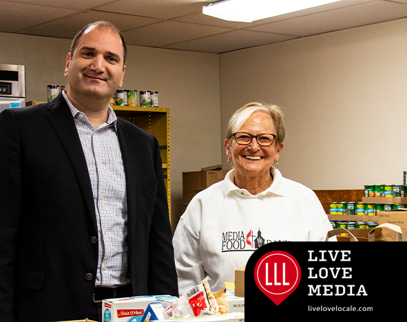 Media Food Bank at the First United Methodist Church in Downtown Media