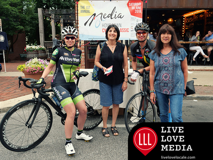 Media Hometown Cycling Classic, 1st Annual Grand Debut