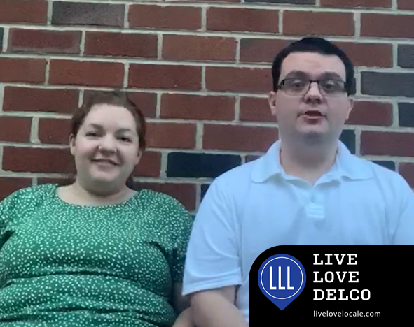 Paul & Chrissy are now raising a family of their own right here in Delaware County, Pennsylvania, and they live, love Delco.