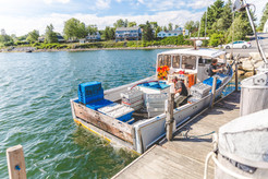 Delivery to Young's Lobster Pound