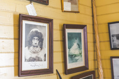 Portrait of Admiral Robert E. Peary at the Bucksport Historical Society