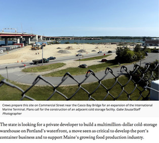 Developer is sought to build cold-storage facility on Portland waterfront