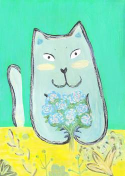 Flowercat_lemonluna