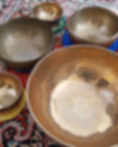 Liz Allan klankschale singing bowls