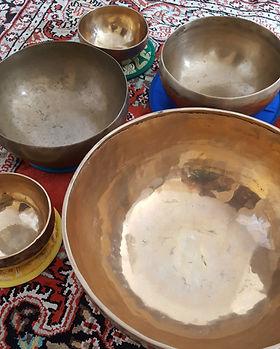Liz Allan klankschale singing bowls