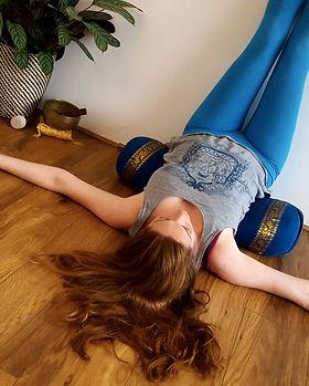 Liz Allan Restorative Yoga Vaparita Karani