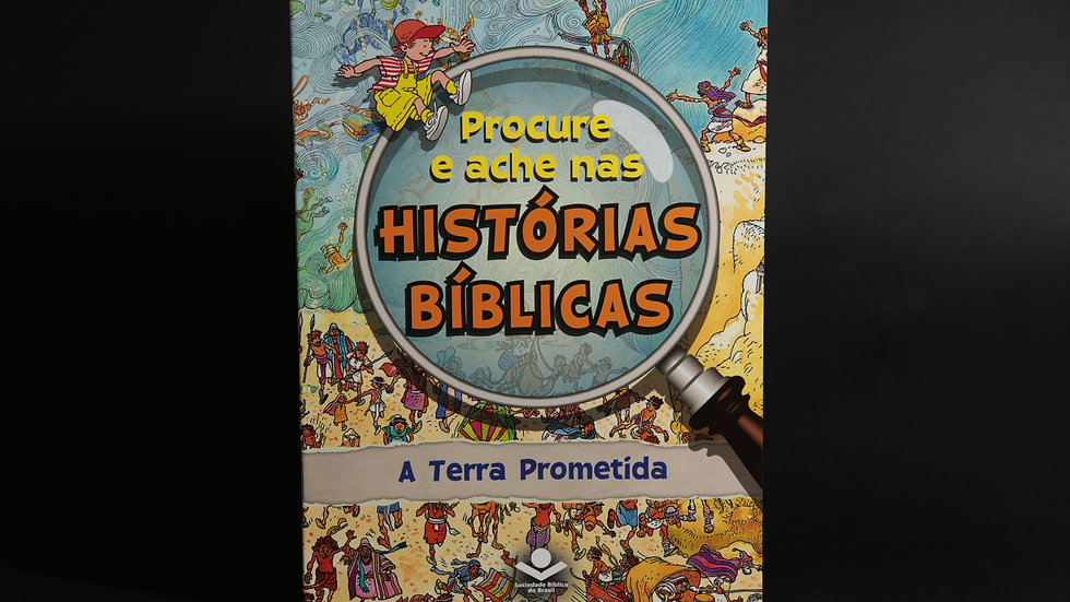 Procure e ache nas histórias bíblicas - A terra prometida