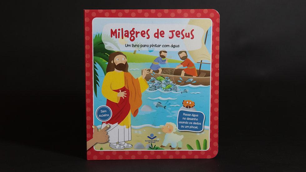 Milagres de Jesus - Um livro para pintar com água