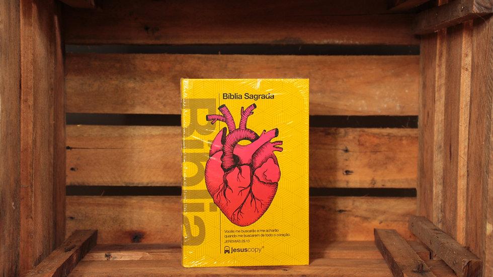 Bíblia Sagrada Jesus Copy - Coração