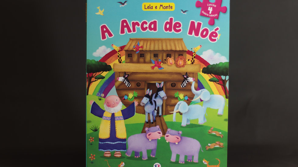 Leia e monte - A arca de Noé