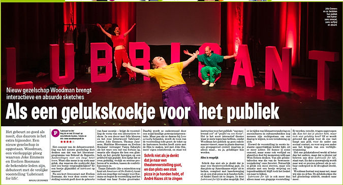 recensie het Nieuwsblad 2020 - Lubricant
