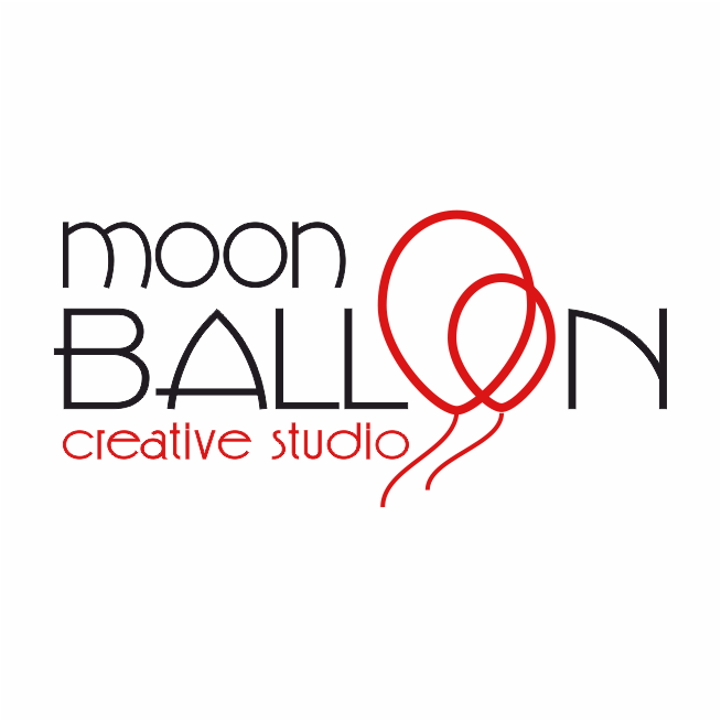 Moon Balloon logo wh