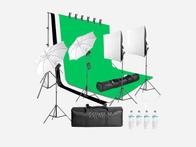 Green Screen Backdrop Kit