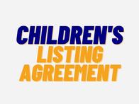 Children's Listing Agreement
