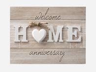 Home Anniversary Card