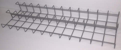 Double cable tray