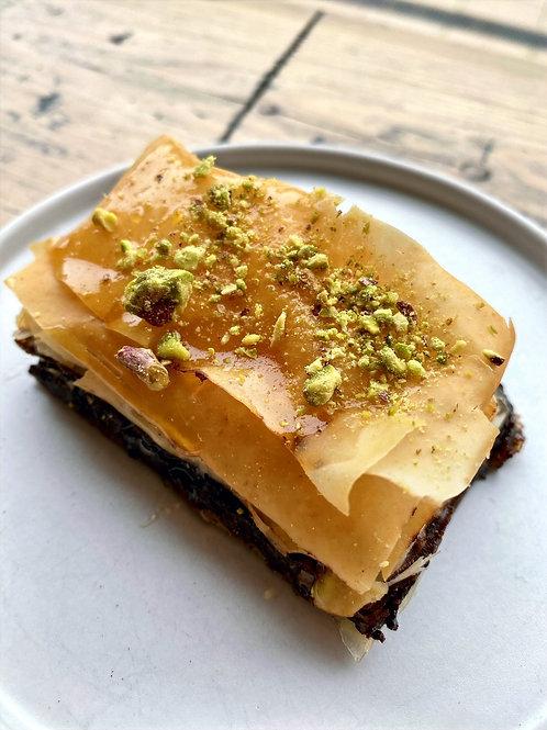 Chocolate & Mincemeat Baklava (x6) (Vg)
