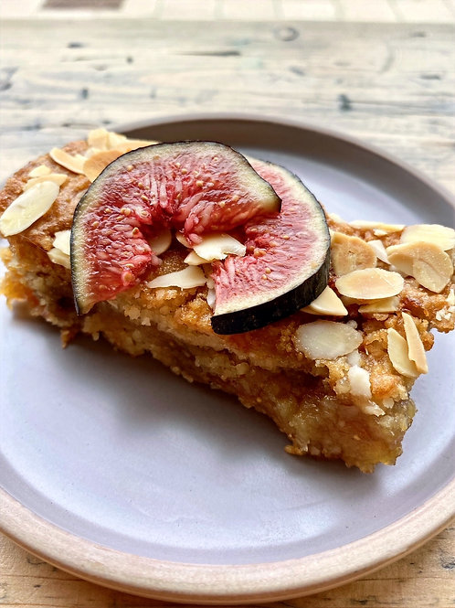 Fig & Sour Cherry Bakewell Slice (x6) (Vg / GF)