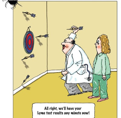 Interpreting your Lyme test, NOT that easy!