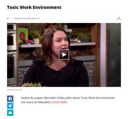 Handling Toxic Work Environments