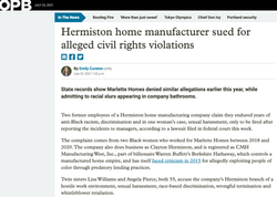 Hermiston home manufacturer sued for alleged civil rights violations