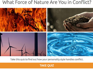 Quiz: What Force of Nature Are You in Conflict?