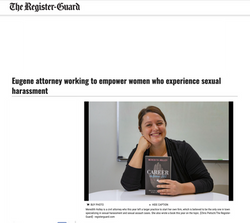 Eugene attorney working to empower women who experience sexual harassment