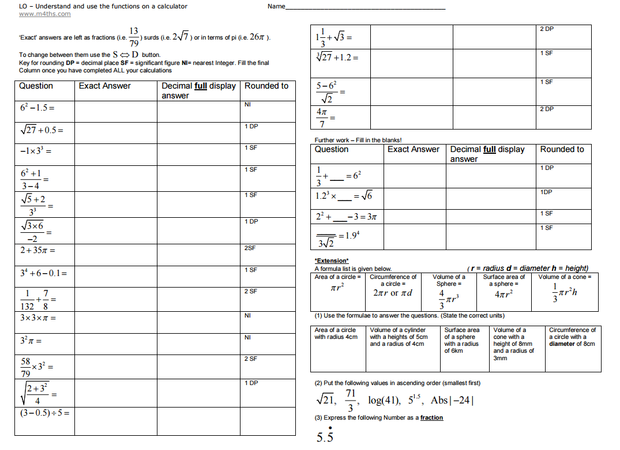 Printables Calculator Worksheets using a calculator miss brookes maths there is an interactive worksheet that great for pupil devices pupils can answer questions require basic or scientific calculator