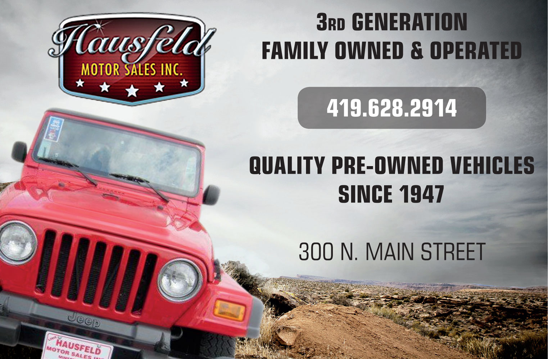 Hausfeld Motors ad