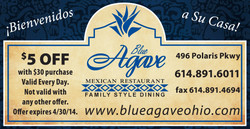 Blue Agave Mexican Restaurant