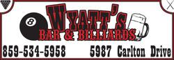 Wyatt's Bar & Billiards