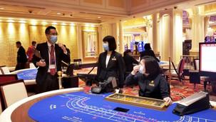 When will Macau casino business levels return to normal?