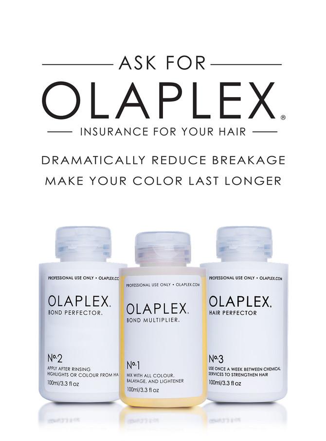 WE NOW OFFER OLAPLEX