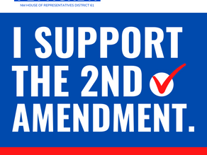 I want you to know that I strongly support the 2nd Amendment.