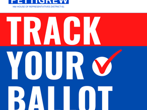 Apply for your ballot today online and track your ballot through the process.