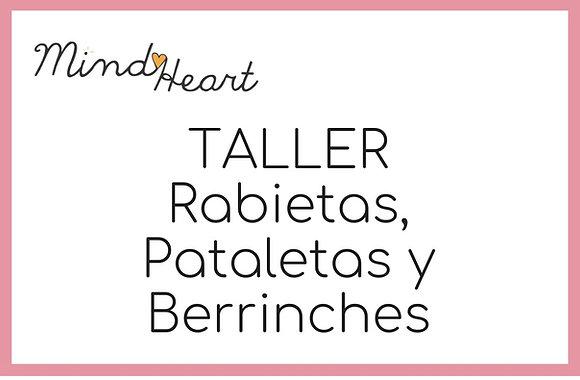 Taller Rabietas, pataletas y berrinches