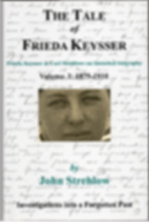 Front cover, volume 1 Tale of Frieda Keysser
