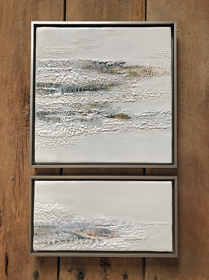 Ice Song - diptych