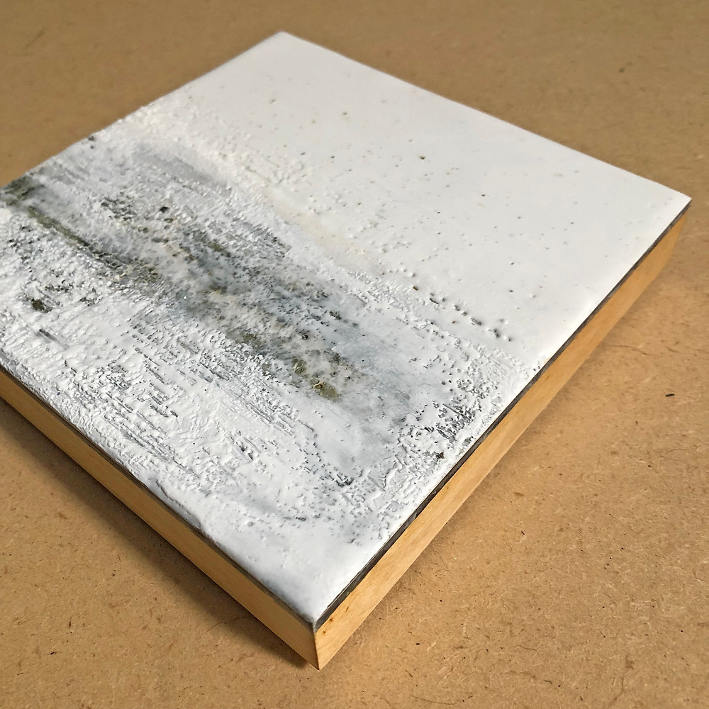 Encaustic on wood panel