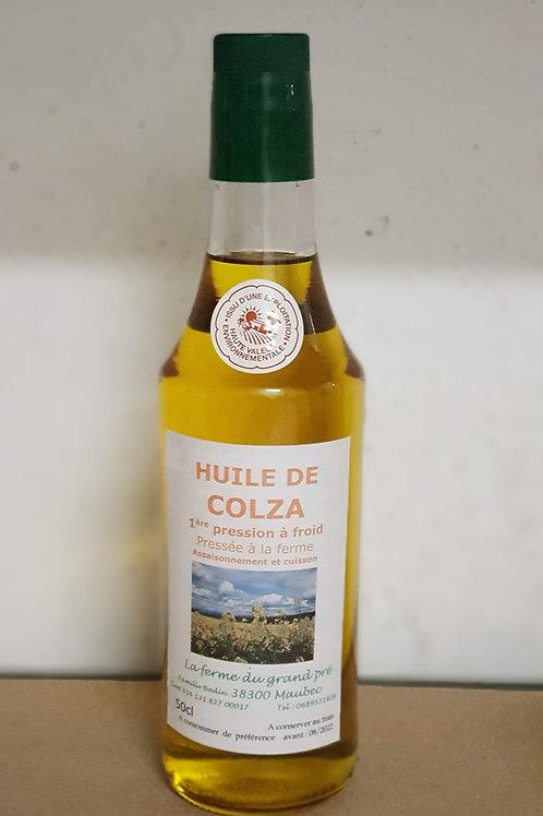 Huile de Colza 500 ML à  4.22 € la bouteille