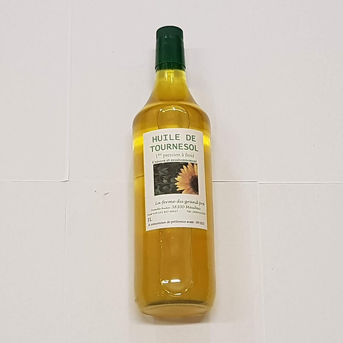 Huile de Tournesol 1 L  à 8.44 € la bouteille