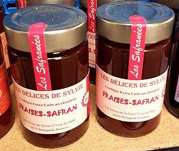 Confitures de fraises au safran
