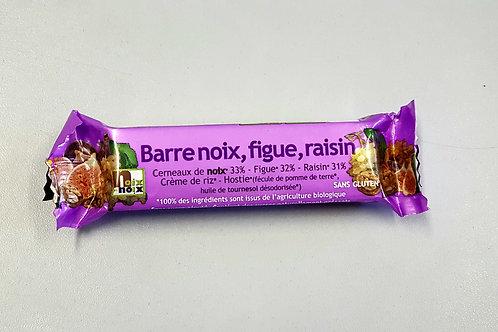 Barre aux Noix Figue & Raisin x 3  de Noix et Noix 100% Agriculture Biologique