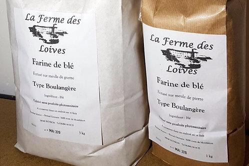Farine de blé à 1.80 € le kilo