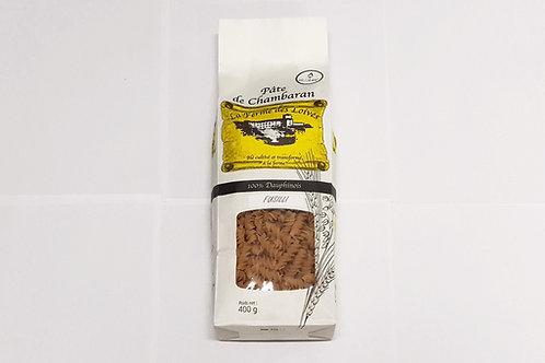 Pâtes sèches 400 g à 6.59 € le kg