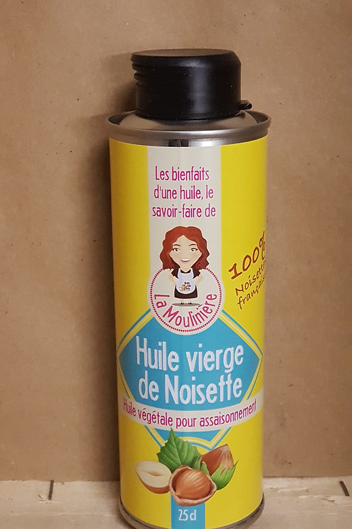 Huile vierge de Noisettes ( 25cl)du Moulin La Belle Huile