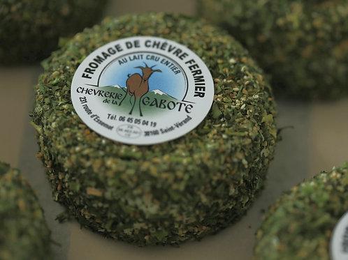 Fromage de chèvre enrobé ail et fines herbes 100 g  pièce
