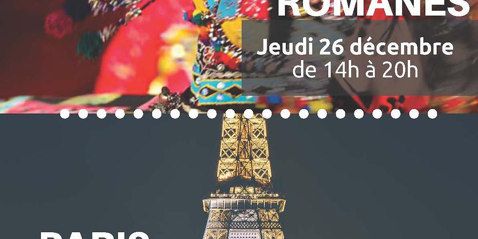 Sortie famille - Cirque romanes 26/12/2019 - Paris by night 30/12/2019