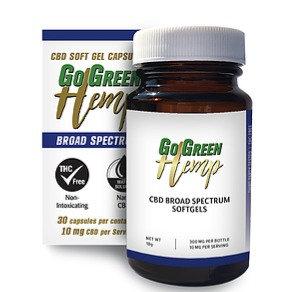 10mg Broad Spectrum CBD capsules